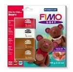 Снимка от Комплект глина - Fimo Soft Bears