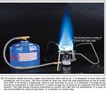 Снимка от Преносим газов котлон