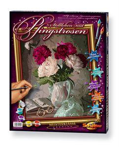 Снимка от Картина за рисуване - Цветя във ваза