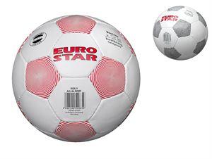 Снимка от Кожена топка за футбол J. S. 23 см
