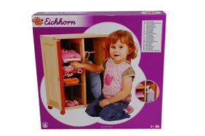 Снимка от Дървен гардероб за кукла - Eichhorn