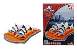 Снимка от 3 D Пъзел - Операта в Сидни - Simba