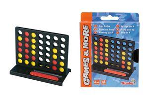 Снимка от Гейм & Мор - Игра с чипове - 4 на ред  (3 вида) - Simba