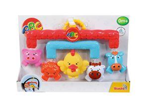 Снимка от ABC - Дрънкалки за бебешка количка, животни - Simba