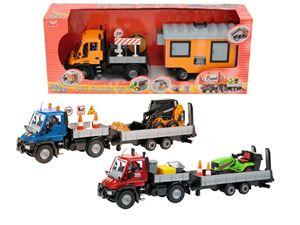 Снимка от  Сет - Камион с ремарке и кола - Dickie