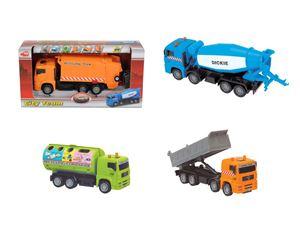 Снимка от  City Team Сет камиони за поддръжка на града (4 вида) - Dickie