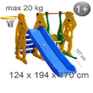 Снимка от Детска пързалка с люлка