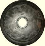 Снимка от Диск за щанга 15.0 кг. - Гумиран, 50 мм.