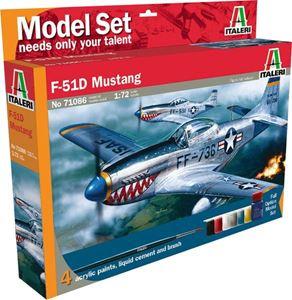 Снимка от Модел за сглобяване на самолет F-51D Mustang