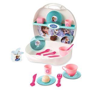 Снимка от Замръзналото кралство - Малка кухня в куфарче - Smoby