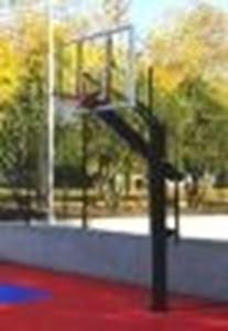 Снимка от Баскетболна конструкция с табло 1.80х1.05 м.