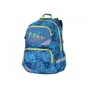Снимка от Раница PULSE ANATOMIC XL BLUE FOOTBALL 121295 с 5 отделения + дъждобран