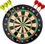 Снимка от Дартс магнитен 18 инча (45.72см) комплект с 6 стрели