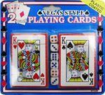Снимка от Карти за игра две тестета с 6 зарчета на блистер