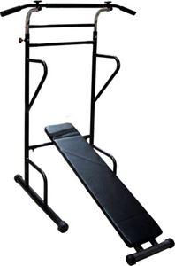 Снимка от  Комбинирана лежанка и стойка с лост - многофункционален уред