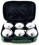 Снимка от Комплект 6 топки за петанк от хромирана стомана
