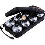 Снимка от Комплект 8 топки за петанк от хромирана стомана