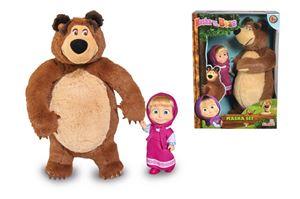 Снимка от Simba-Сет кукла Маша и плюшен мечок