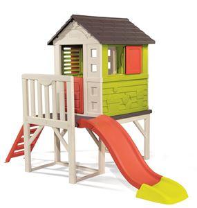 Снимка от Smoby-Къща с веранда и пързалка
